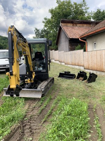 Sapaturi,excavatii,servicii miniexcavator 3t si transport basculabil