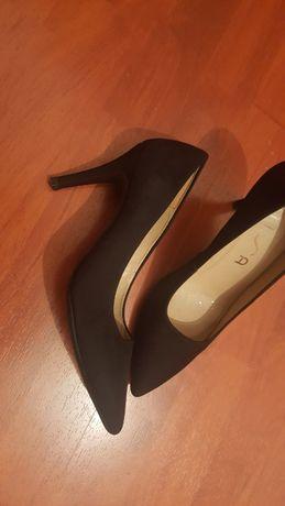 Pantofi piele întoarsă
