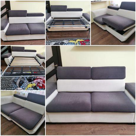 Canapea si coltar cu tetiere