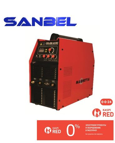 Сварочный аппарат аргоновой сварки tig 200 ac/dc