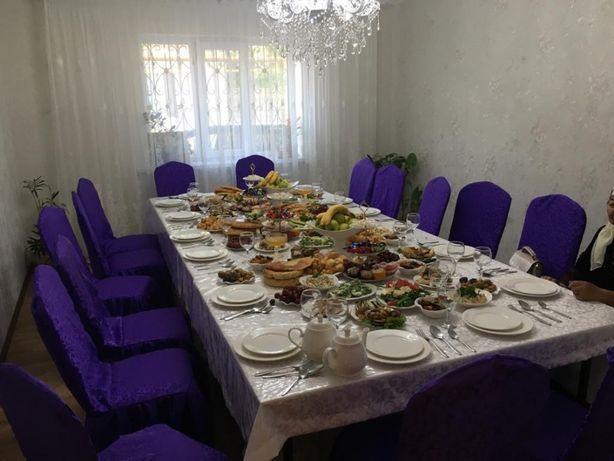 Прокат столов, посуды, стульев на 250 персон
