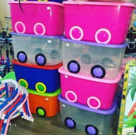 Ящики контейнер баки для игрушек