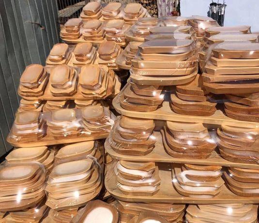 Set platou 13 piese / platou tradițional lemn