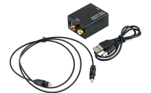 Цифров към аналогов аудио адаптер