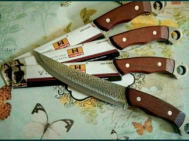 Новые стальные ножи