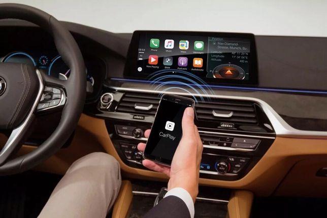 BMW Carplay Screen Mirroring Waze NBT EVO ID 5 și 6 G30 G10