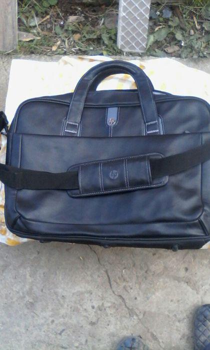 Geanta laptop HP/piele 45x35 cm Campina - imagine 1