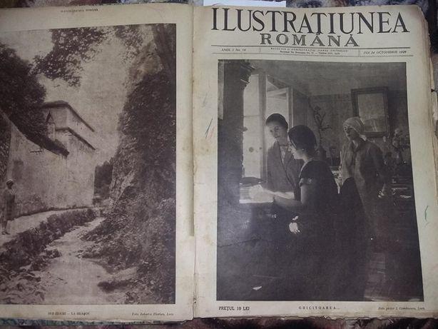 Album ziare vechi 1929-1930 ILUSTRATIUNEA ROMANA,de colectie,T.GRATUIT