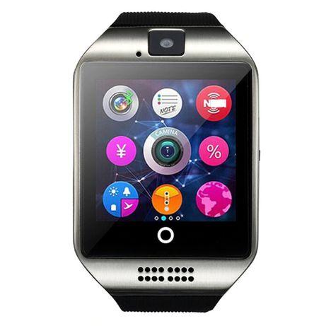 Смарт часовник ,Be-smart Q18 сим карта, камера, bluetoth, черен