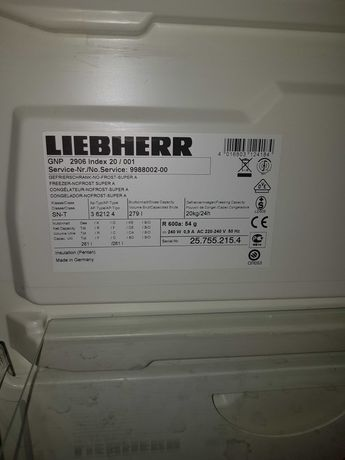 Liebherr GNP 2906 идеално състояние