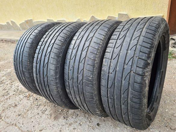 4 бр. летни гуми 235/55/17 Bridgestone 5-5,5 mm DOT 4513