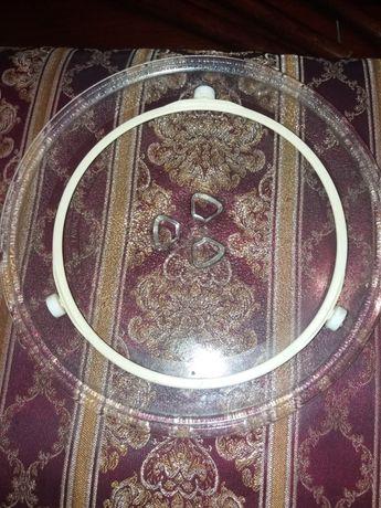 Тарелка для микроволновки б/у 2000тг
