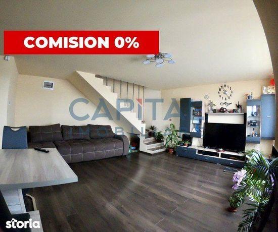 Comision 0%! Vanzare apartament cu 3 camere la casa in Baciu!