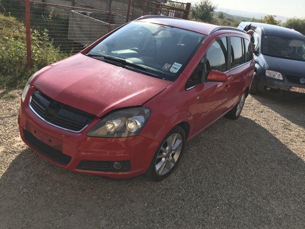 Dezmembrez Opel Zafira B rosu cod motor Z19DT 1.9 CDTI 120cp 6 trepte