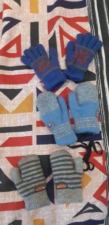 Варежки рукавицы перчатки от 9ти мес до 1.5лет