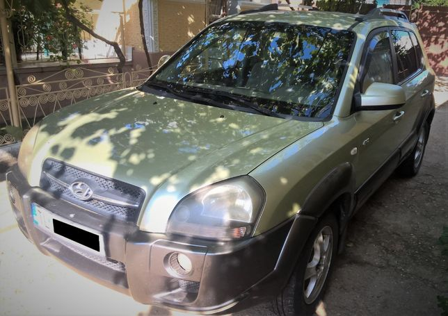Hyundai Tucson CRDI 2004