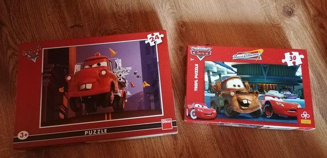 Set 2 puzzle-uri cars de 24 și 30 piese