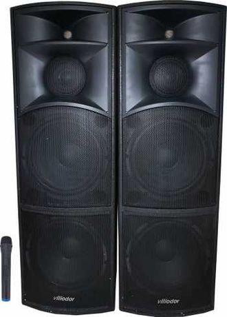 Boxe active Profesionale Vlliodor/NRS 3500W 98 dB 3 cai, Bluetooth Mic