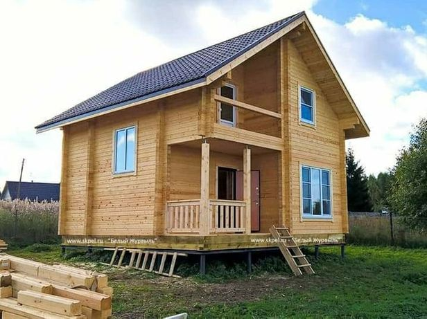 Vând case din lemn cabane Chenpinguri case de vacanta pe baza de pilon