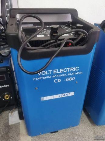 CD 680 Volt Electric Стартерна и зарядна количка