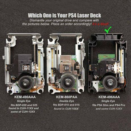 Laser bloc optic PS4 Pro Ps4 Slim KES 496 KEM 496 AAA