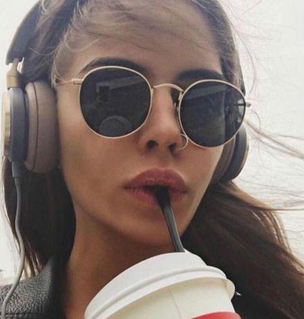 Слънчеви очила Ray Ban Намаление Унисекс Ув Защита Златисти Черни