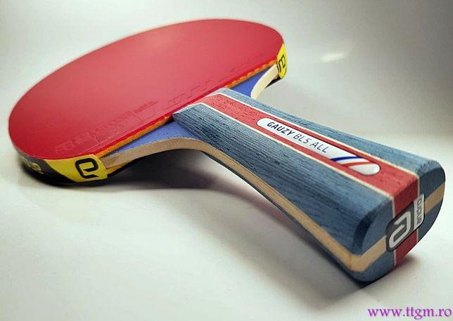 Paleta profesionala tenis de masa (ping pong) Andro Gauzy bl5/Gtt