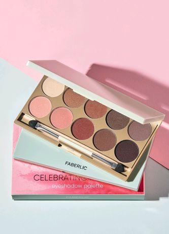 Новая палетка теней для век Celebrating makeup