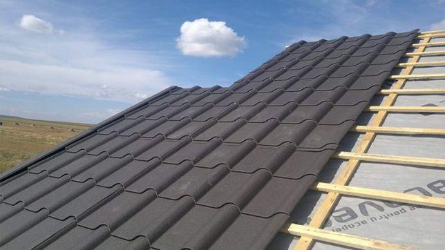 Montăm acoperișuri Tigla Metalica/Ceramica montaj orice învelitoarea