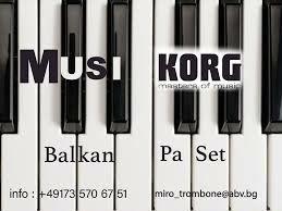 Korg SET Payner Original 2021 Pa4/300/600/700/800/900/1000/1/2/3