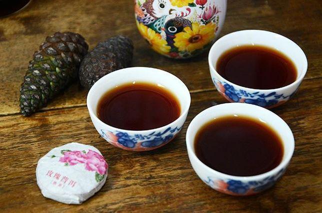 Чай пуэр 10 лет с шоколадно-кофейный вкус! Доставка наличие Астана