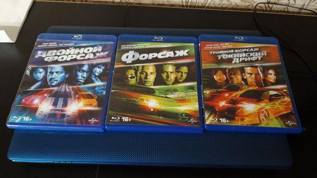 Продам фильмы на дисках blu ray