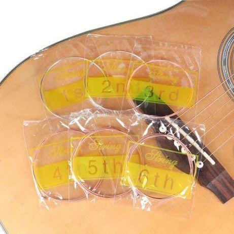 струны для гитары серебрянные
