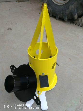 Dispozitiv golire saci big bag cu adaptor pt furtun