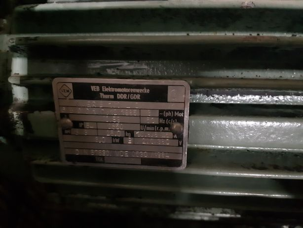 Motor electric 5kw 380v motor trifazic 5 kw