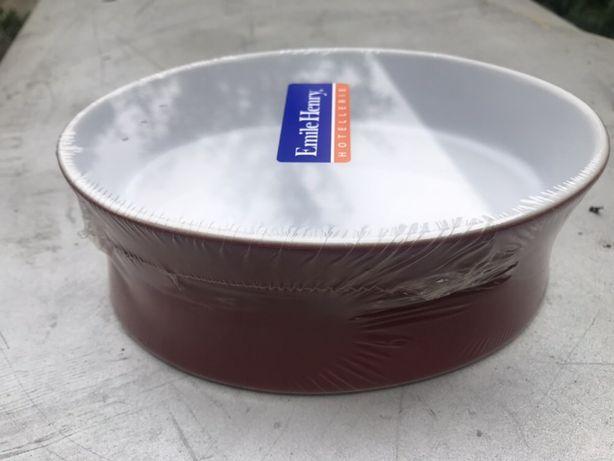 Tava ceramica - termică - Emile Henry - Franța 16,5 x 10,5 cm