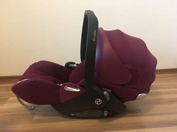 Столче за кола Cybex Cloud Q Mystic Pink 2017 + Дъждобран Cybex