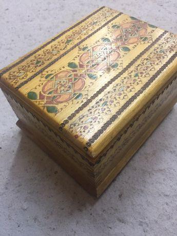 кутия за цигари- българси мотиви.