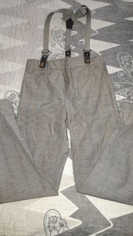 Pantaloni carouri 122 baiat