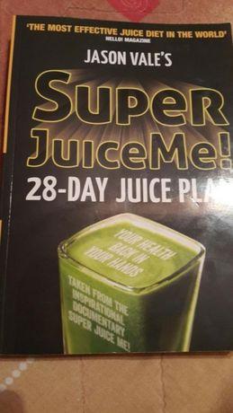 Книга Super juice me на Jason Vale