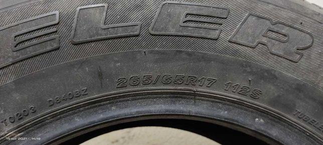 Продам шины Бриджстон ( Bridgeston ) 265.65R17 4 шт