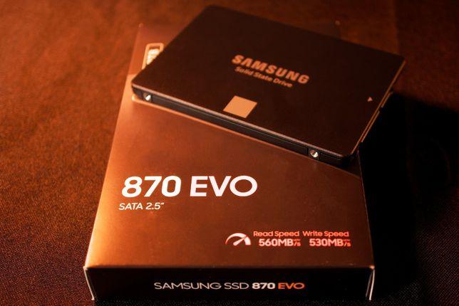 "SSD intern 2.5"" pt laptop SAMSUNG 870 EVO 500GB nou. Sigilat"