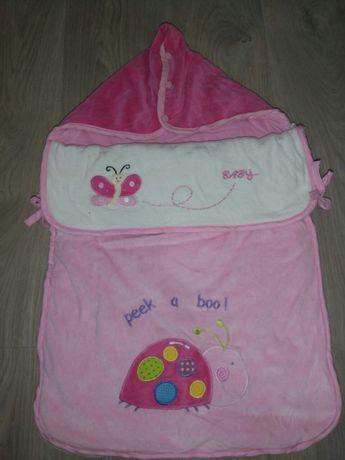 Бебешки спален чувал,памучно спално чувалче,одеяло порт бебе Aziz Bebe