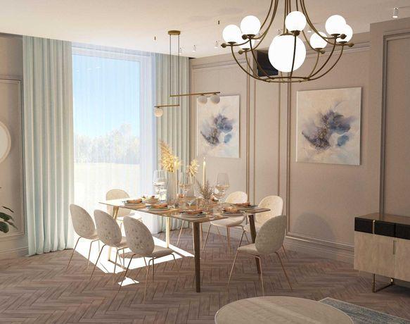 Дизайн проект жилых  и коммерческих помещений