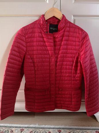 Geacă/Jachetă matlasată primăvară/toamnă M-L roșu