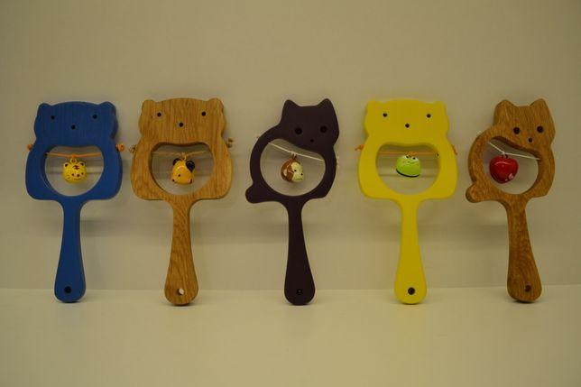 Jucarii bebeluși din lemn