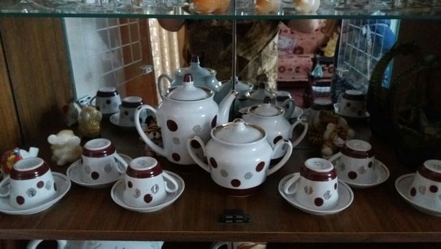 Чайно-кофейный  сервиз из СССР