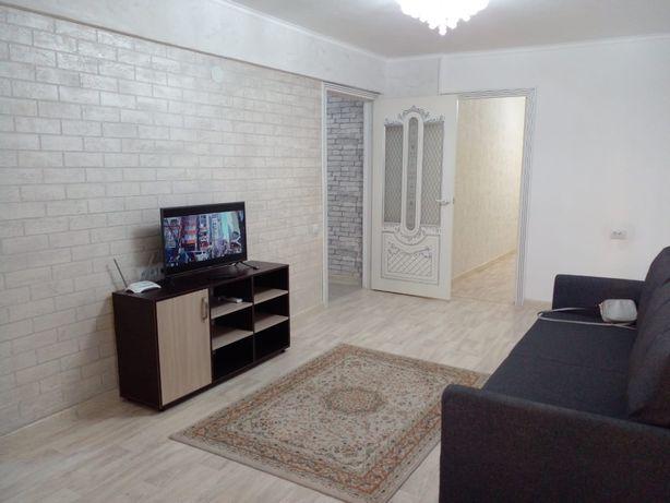 В центре г.Атырау 1-2-3ком чистая суточная аренда квартира/Wi-fi/Alma