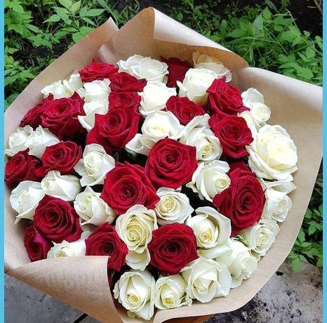 Бесплатная доставка цветы Талдыкорган, недорого