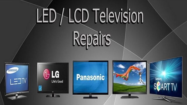 Reparatii Televizoare LCD/LED/Smart TV/Amplificatoare/Mixere Etc